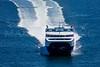 MIP AERIAL CAT FERRY CASCO BAY PORTLAND MAINE-7799