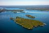 MIP AERIAL MOSHIER ISLAND CASCO BAY MAINE-3192