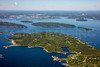 MIP AERIAL LONG ISLAND CASCO BAY MAINE-3250