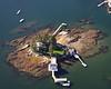 Harbor Island.  Boothbay Harbor, Maine.