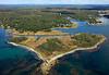 Vaugn Island, Vaugn Island Preserve.  Kennebunkport, Maine.