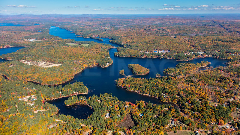 MIP AERIAL MOUSAM LAKE SHAPLEIGH ME 101916-0234