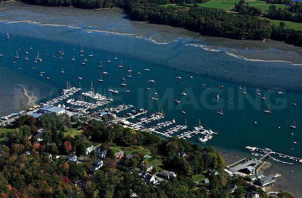 Falmouth, Yarmouth, Freeport, Harpswell,  Brunswick, Maine, area.