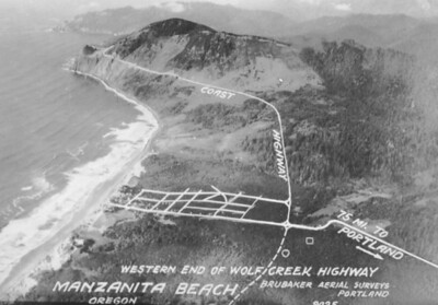 Taken during the mid 1930s by Brubaker aerial surveys.