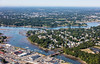 MIP AERIAL DANVERS RIVER BEVERLY MA-3407
