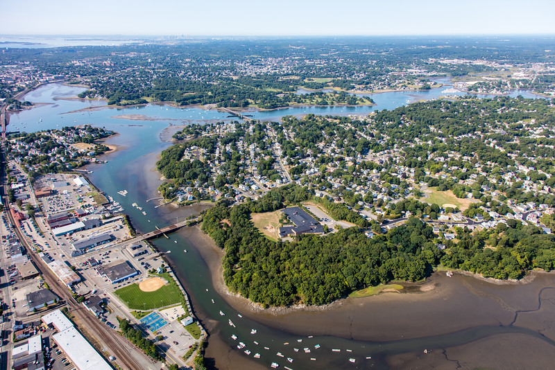 MIP AERIAL BASS RIVER BEVERLY MA-3256