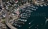 Beverly Port Marina, from the Northwest.  Beverly, MA.
