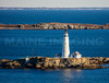 MIP AERIAL BOSTON LIGHT LITTLE BREWSTER ISLAND MA-7069