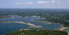 Pocasset Harbor and Red Brook Harbor.  Bourne, Mass.