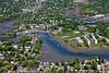 Danversport, Massachusetts and the Crane River.