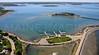 Allerton Harbor and Spinnaker Island.  Hull, Massachusetts.