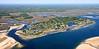 Little Neck, Great Neck, Plum Island, and the Plum Island Sound.  Ipswich, Massachusetts.