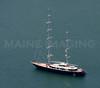 Austrailian Sail Boat.  Marthas Vineyard, Mass.