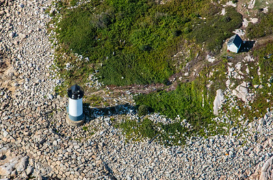MIP AERIAL STRAITSMOUTH ISLAND LIGHT  ROCKPORT MA-2968