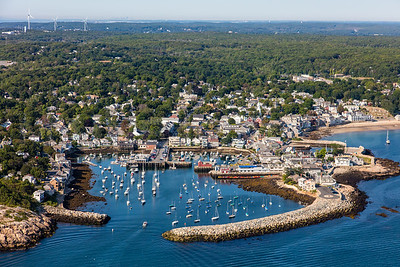 MIP AERIAL ROCKPORT HARBOR ROCKPORT MA-2960