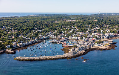 MIP AERIAL ROCKPORT HARBOR ROCKPORT MA-2951