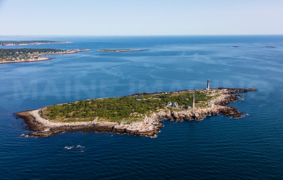 MIP AERIAL THATCHERS ISLAND TWIN LIGHTS ROCKPORT  MA-2996