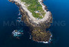 MIP AERIAL STRAITSMOUTH ISLAND LIGHT  ROCKPORT MA-2970