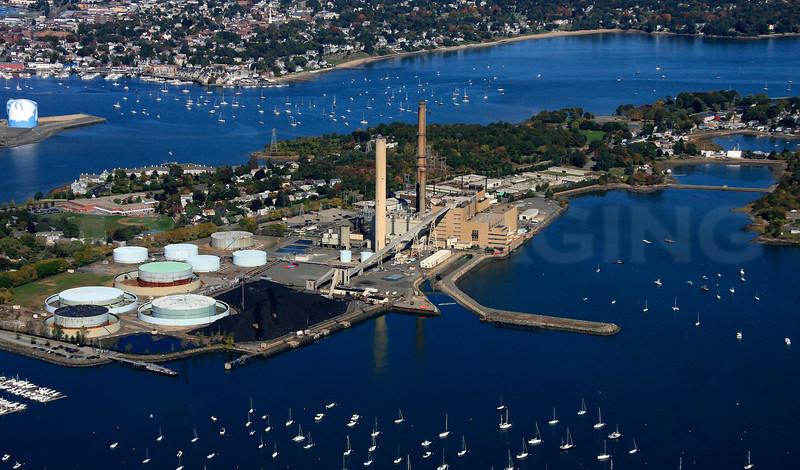 Salem Harbor Power Station, Salem Harbor.  Salem, MA.
