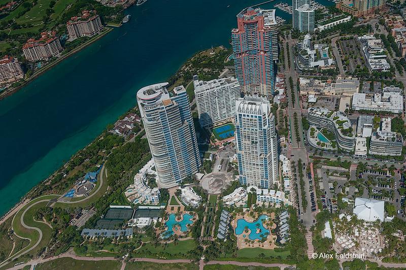 South Pointe park<br /> Miami Beach