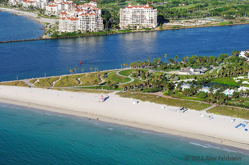 South Pointe and Fisher Island