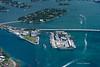 Star Island and the US Coastguard Miami Station