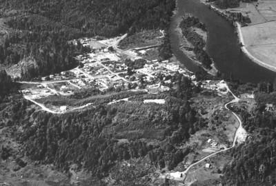 Taken in 1950 by Boersig aerial studios.