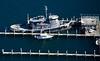 Block Island Tugboat.  Block Island, Rhode Island.