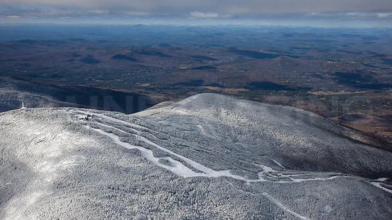 Loon Mountain Ski Resort, New Hampshire.  November, 2012.