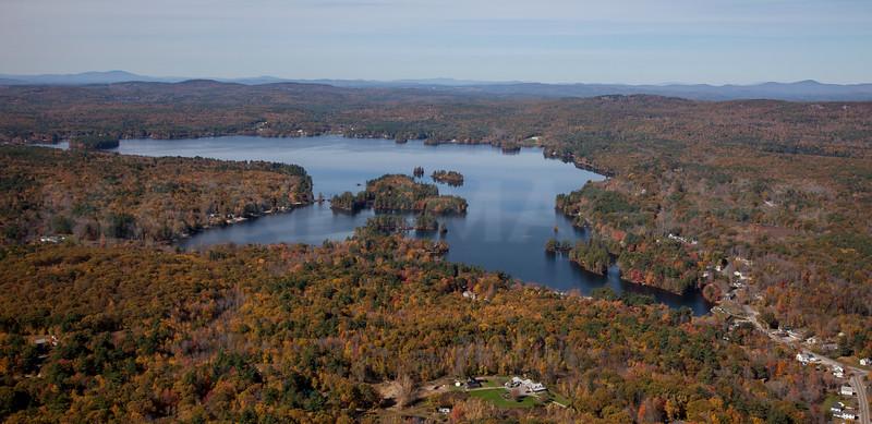 Bow Lake.  Strafford, New Hampshire.  9273