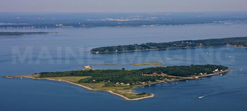 Hog Island, Popasquash Neck.  Bristol, Rhode Island.