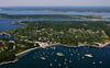 "Bull Point and the ""Dumplings"".  Jamestown, Rhode Island."
