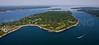 Hull Cove, Short Point, Mackerel Cove.  Jamestown, Rhode Island.