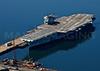 The USS Saratoga.  CV-60.  Newport, Rhode Island.