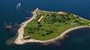 Rose Island.  Narragansett Bay.  Newport, Rhode Island.