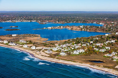 MIP AERIAL SOUTH KINGSTOWN GREEN HILL OCEAN ROAD RI 102017-9985
