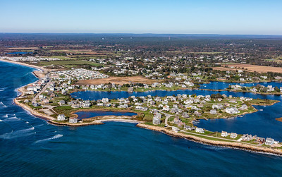 MIP AERIAL SOUTH KINGSTOWN OCEAN AVE MATUNUCK POINT RI 102017-9942