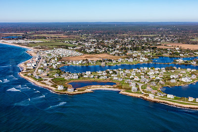 MIP AERIAL SOUTH KINGSTOWN OCEAN AVE MATUNUCK POINT RI 102017-9944