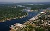 The Warren River, Warren, and Barrington, Rhode Island.