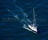 Sailboat.  Watch Hill, Rhode island.