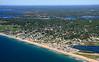 Misquamicut State Beach.  Westerly, Rhode Island.
