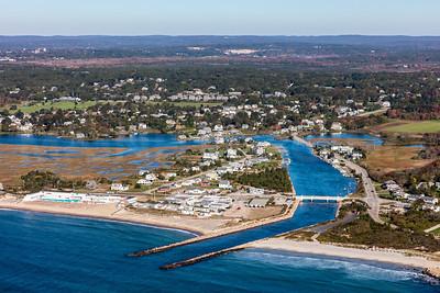MIP AERIAL WESTERLY WEEKAPAUG BREACHWAY DUNES BEACH RI 102017-0104