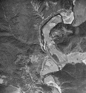 Mohler Sand and Gravel area. Taken 1950 for Crown Zellerbach Corporation.