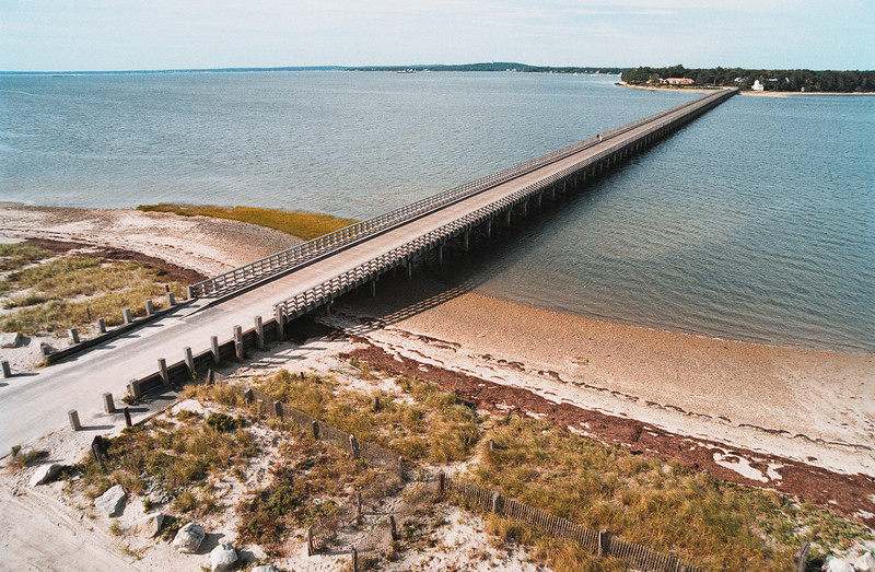 A perfect day over Duxbury Bay and the Powder Point Bridge.<br /> ©Chris Bernstein/CDBphotography