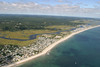 Rexhame Beach stretching north to Scituate.<br /> <br /> ©Chris Bernstein/CDBphotography