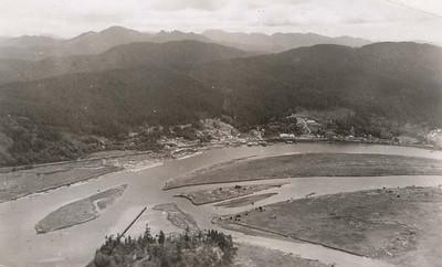 Taken 1950 by Boersig aerial studios.