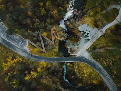 The Gudbrandsjuvet Gorges