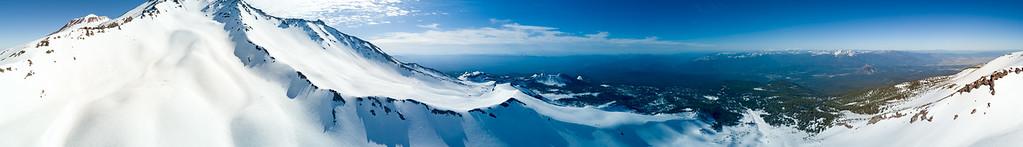 Mount Shasta 360 Pano - Mount Shasta