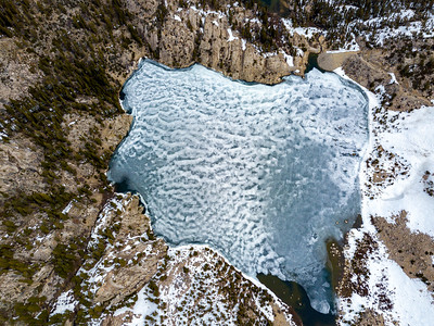 Big Pine Lakes and Temple Crag - John Muir Wilderness Aerials-13