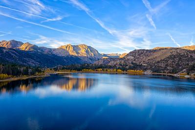 Sunrise Aerial - June Lake